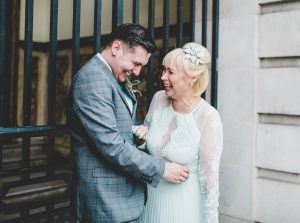 stockport town hall wedding portraits