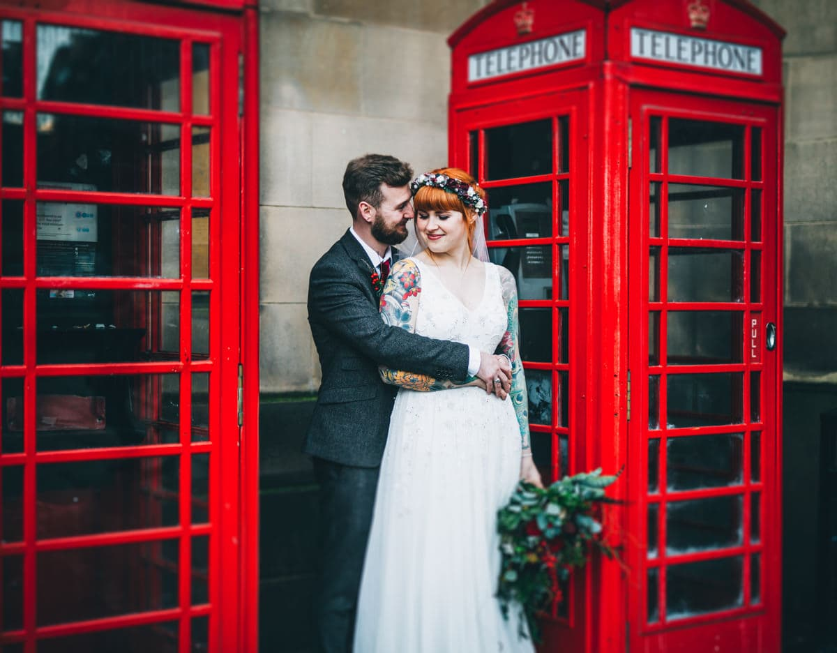 city centre wedding portraits - north west photographer