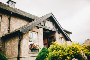exterior of village hall in lake district