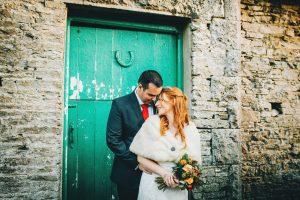 Lake District village hall wedding - evening portraits