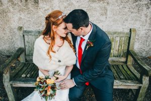 close and intimate portraits - Lake District wedding