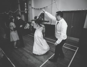 first dance - lake district wedding