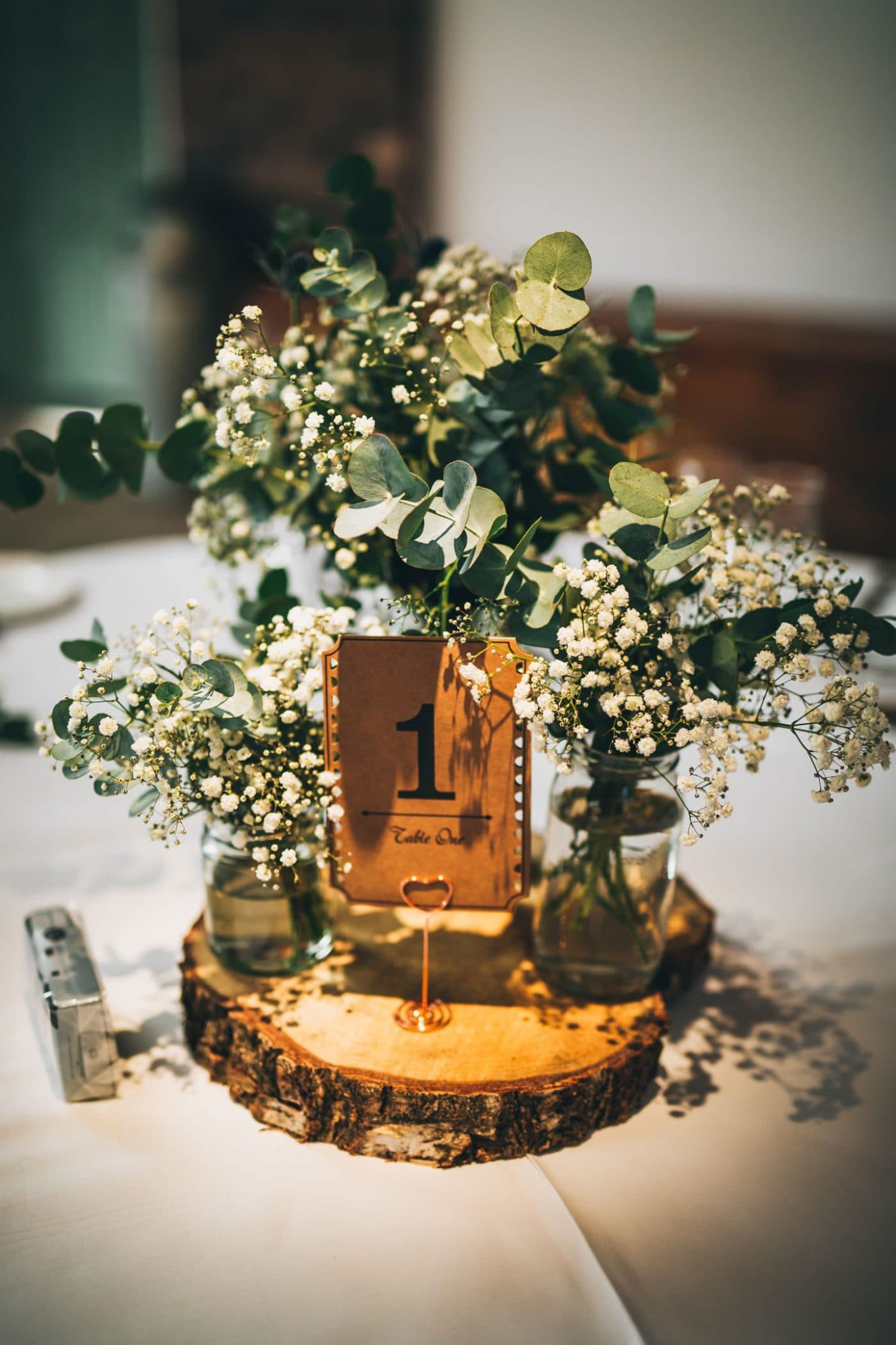 rustic inspired wedding decor - Owen House wedding barn