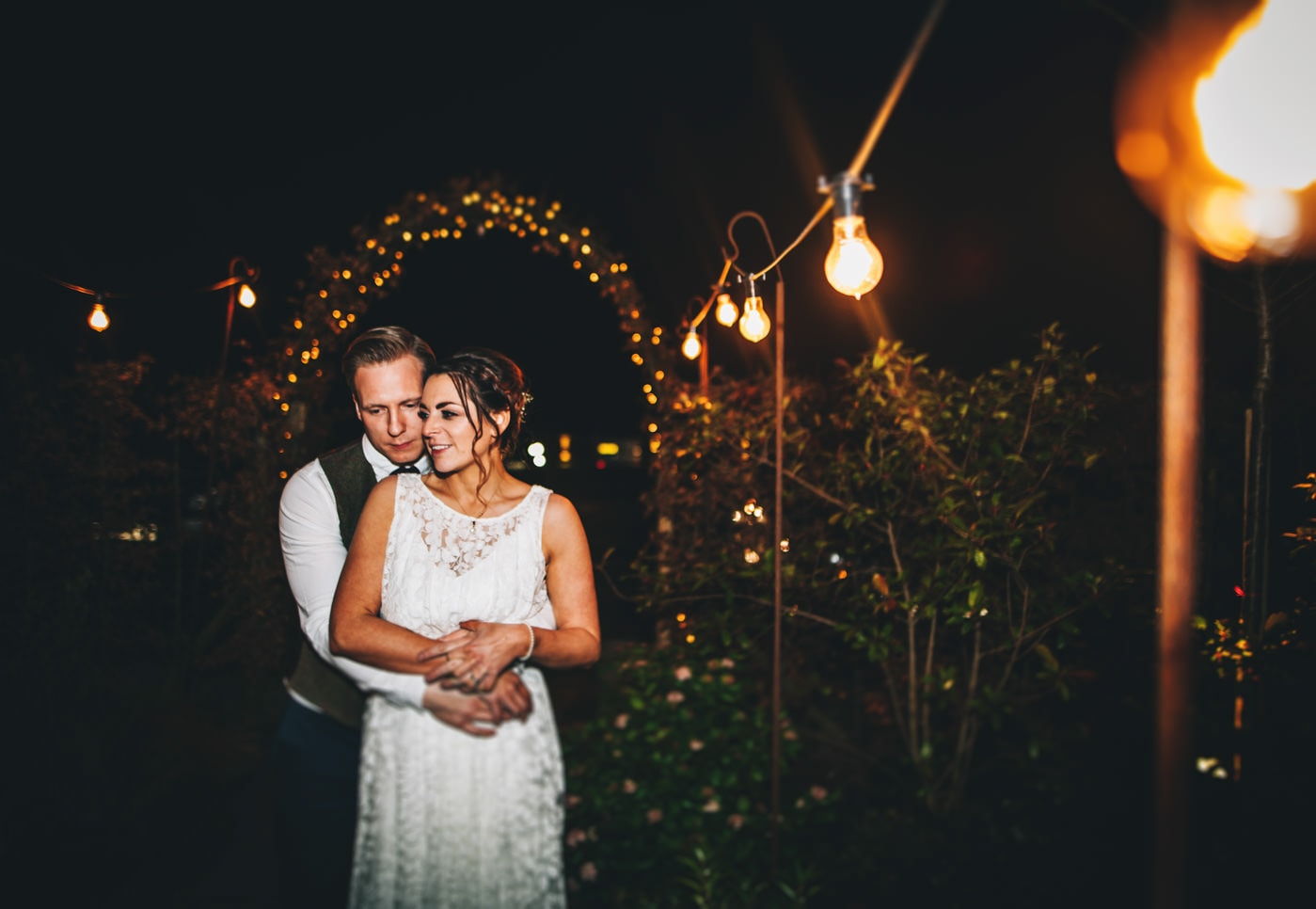 creative wedding portraits at Owen House wedding barn