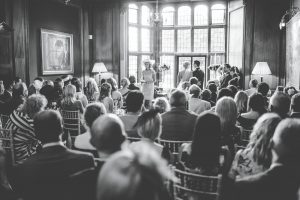 Black and white pictures - Thornton Manor wedding
