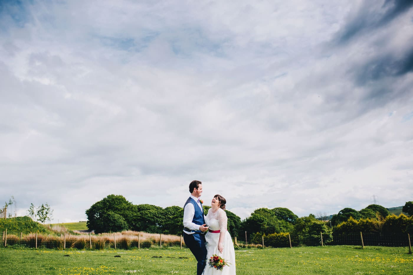 Fun wedding pictures - wellbeing farm