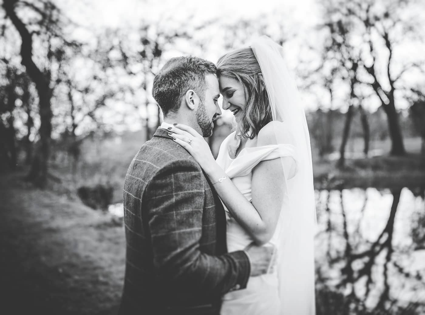 relaxed portraits at Browsholme Hall wedding pictures