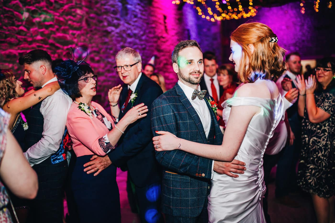 Browsholme and the Tithe Barn - couple dancing