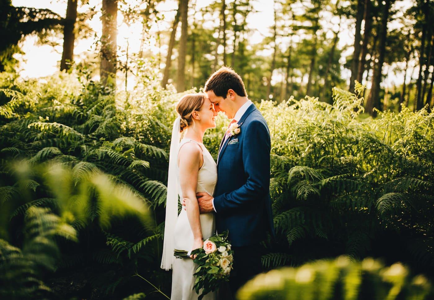 gorgeous sunset images at Abbeywood Estate Wedding venue