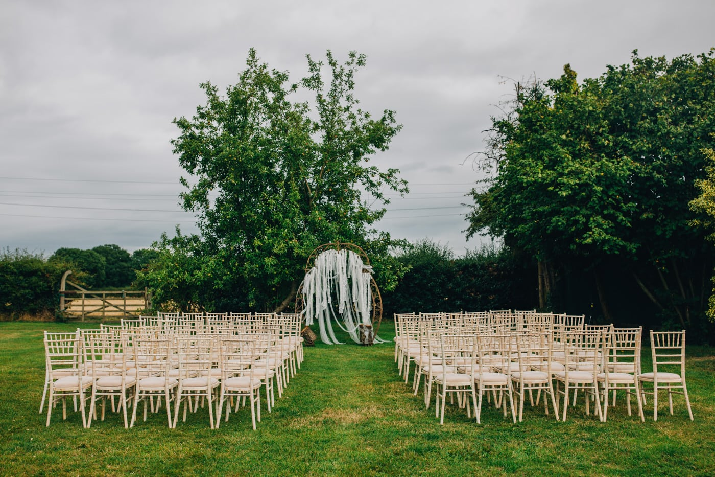 Stock Farm - Outdoor Wedding venue