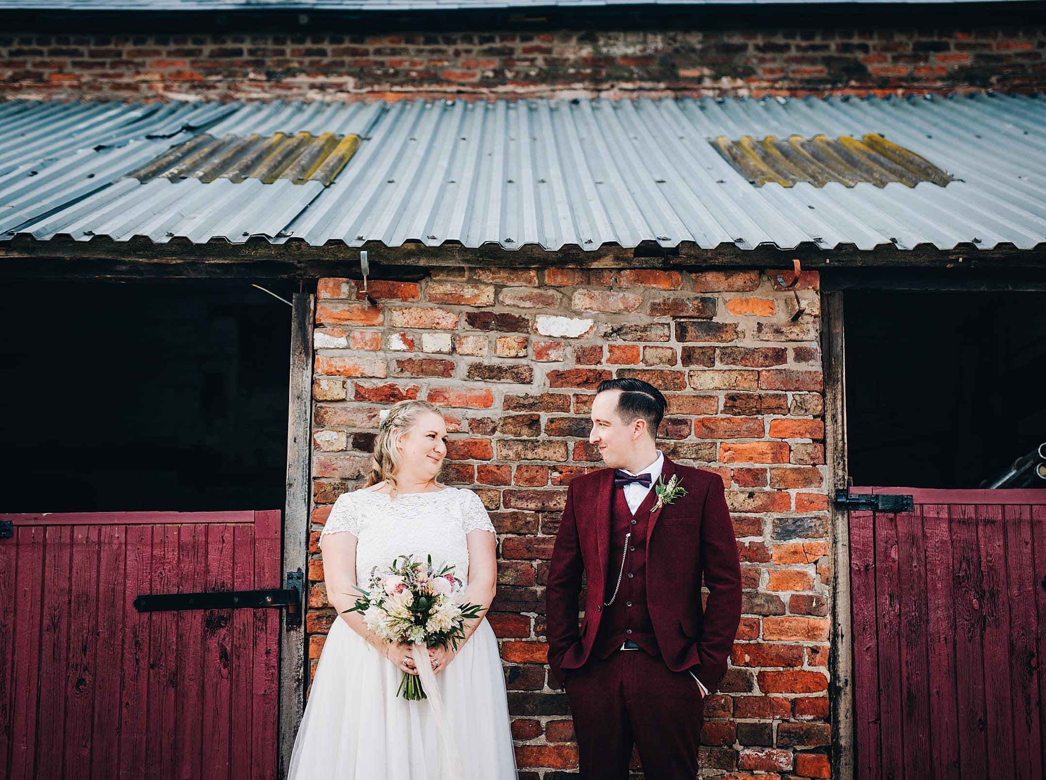 Stock Farm Wedding - fun couples photos
